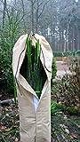 Gardenpalms® Palmen Winterschutz Frostschutz - Stamm-/Wedel-/Wurzelschutz - verschiedene Ausführungen (Wedel-/Stammschutz Moskau - 80cm x Ø 24cm)