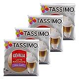 Tassimo Gevalia Latte Macchiato Less Sweet, Weniger Süß, Gemahlener Röstkaffee, Kaffeekapsel, 32 T-discs