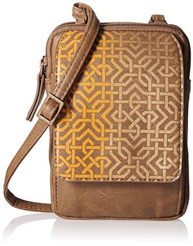 Baggit Women's Sling Bag (Mustard)