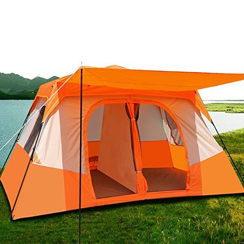 2-Zimmer-Campingzelt, zweischichtiges, regensicheres Strandzelt, vollautomatisches wasserdichtes Außenzelt