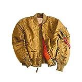 ALPHA INDUSTRIES Herren Jacke Jack Polyamide modisches Langarmoberteil Unifarben, Größe: XXL, Farbe: Beige