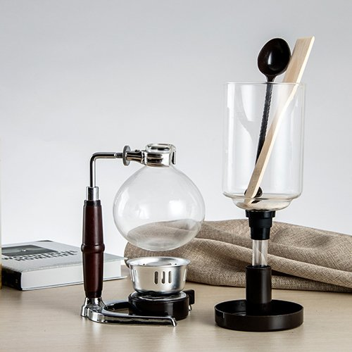 Cosy-YcY Kaffeemaschine 5-Tasse Kaffee Siphon / Vakuum-Glas - Kaffeemaschine Vakuum Glas