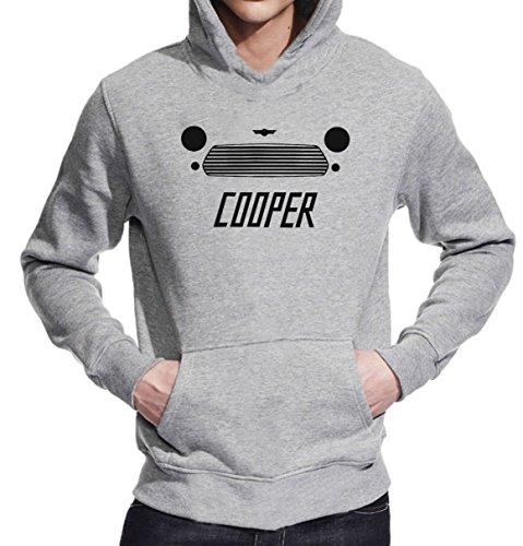 Mini Cooper Minimal T-Shirt Unisex Pullover Hoodie Medium -