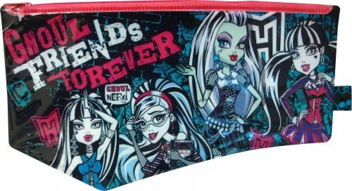 Monster High plana grande PVC papelería Character estuche