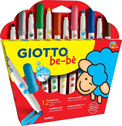 Giotto be-bè 469900 - Estuche 12 maxi rotuladores