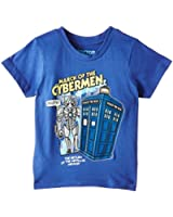 Doctor Who Boy's March of the Cyberman Short Sleeve T-Shirt