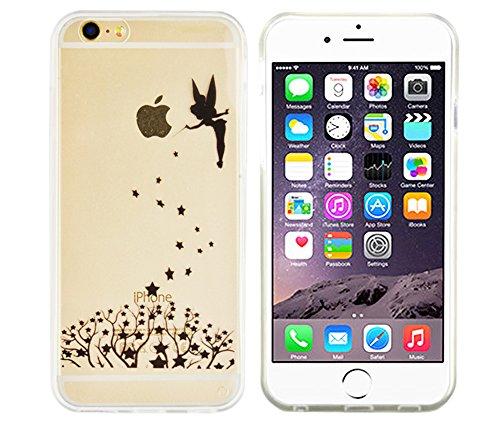 Apple iPhone SE / 5S / 5 Hülle von GaDa Schutzhülle TPU Case Cover Handyhülle kleine süße Katze Fee zaubert Sterne