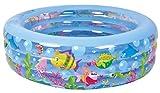 Jilong Aquarium Pool Ø 185 x 50 cm Kinderpool Planschbecken Schwimmbecken Kinder Schwimmbad für Garten und Terasse