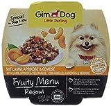 GimDog Little Darling Fruity Menu Paté | speziell für Hunde bis 10 kg | Natürliches Hundefutter ohne Künstliche Aromen & Farbstoffe | 8er Pack ( 8 x 100 g)