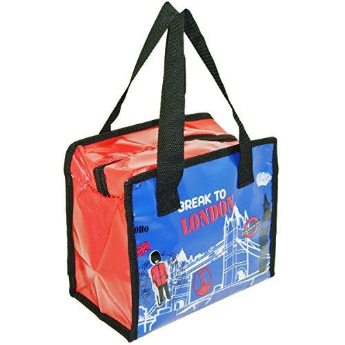 Promobo - Lunch Bag Sac Panier Repas Fraicheur Isotherme Break To London