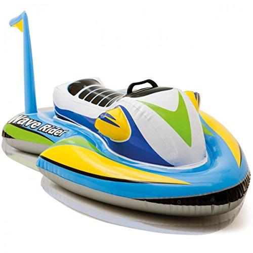 Moto acuática hinchable Wave Rider para montar de Intex, para niños. Juguete...