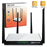 [Upgraded 2018] WiFi Router AC1200 Mbps - High-Speed Dual Band 2.4/5Ghz Gigabit Wireless