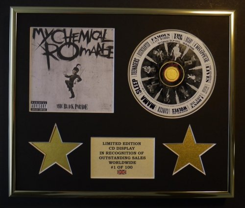 MY CHEMICAL ROMANCE/CD Display/Limitata Edizione/Certificato di autenticità/THE BLACK PARADE