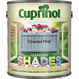 New 2015 Cuprinol Garden Shades Coastal Mist 1L