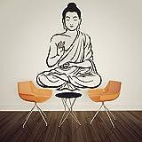 customwallsdesign indischen Buddha Wand Aufkleber Aufkleber Religiöse Om Yoga Wand Art Decor