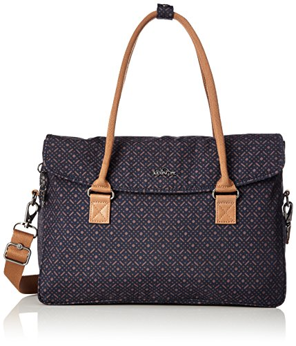 Kipling - SUPERWORK S - Bolso Para Portátil - Woven Blue Geo - (Multi color)