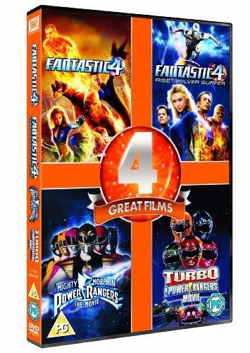 Bild von Fantastic Four / Fantastic 4: Rise of the Silver Surfer / Mighty Morphin Power Rangers / Turbo: A Power Rangers Movie [DVD] [1995] by Ioan Gruffudd