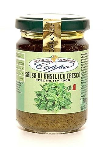 Coppo Specialità Alimentari -Salsa di Basilico ligure fresco