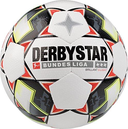 Derbystar Bundesliga Brillant S-Light, 4, weiß schwarz rot, 1852400123