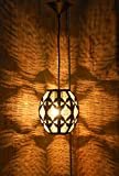 #10: Logam Contemporary Moorish Metal hanging light