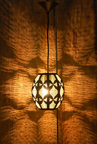 Logam Contemporary Moorish Metal hanging light
