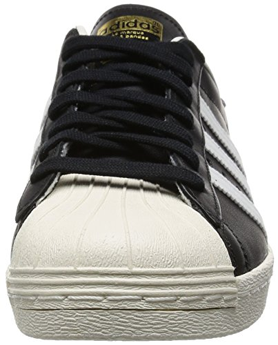 adidas Herren Superstar 80s Sneaker Schwarz (Black/White/Chalk)