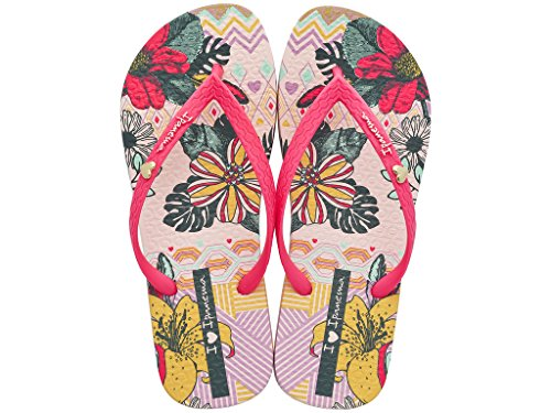 Ipanema , Tongs pour femme multicolore Mehrfarbig pink (22750)