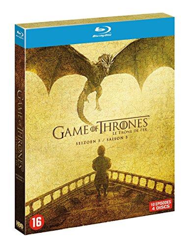 Produktbild Game of Thrones - Die komplette 5. Staffel [4 Blu-ray] [EU-Import mit Deutscher Sprache]