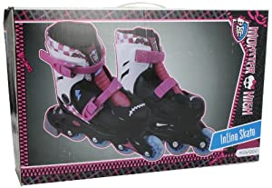 Unice Toys - Monster High Patines en línea, Extensibles, Talla S 29/32 (16-18990)