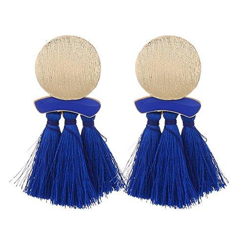 Leisial Boucles doreilles Pompon Bijoux Féminins Bijoux en Alliage Cadeau de Vacances Boucles doreilles Perle Boucles doreilles Fille pour Cadeau de la Saint-Valentin