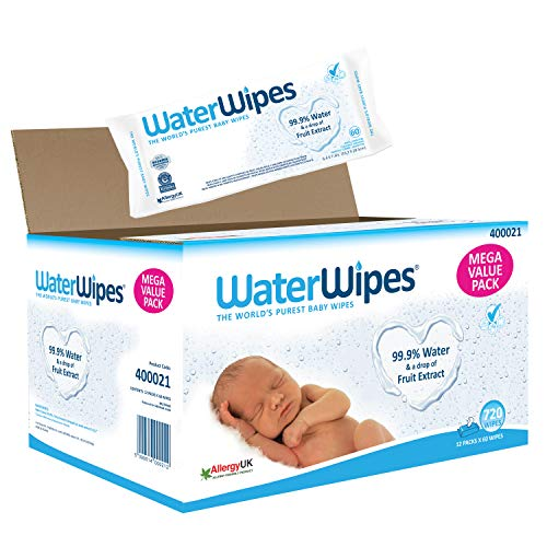 WaterWipes Toallitas Pieles Sensible Bebé