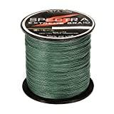 #7: Ocamo 100%PE Plastic Braided Fishing Line 20LB Test Moss 0.23mm Diameter 500M Length