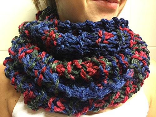Bufanda-moda-mujer-cuello-azul
