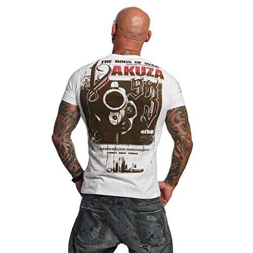 Yakuza Original Herren Havoc T-Shirt Weiß