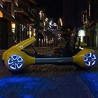 L'auto elettrica da bambino stile Ycco è dotata di un telecomando per i genitori, che consente di controllare a distanza l'auto da parte dei genitori.Il viaggio in avanti,Inversione e arresto possono essere facilmente controllati dai pulsanti sul pan...