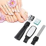 Set di Clippers per unghie, Set di tagliaunghie per unghie in acciaio inox Set di tagli per unghie per manicure e pedicure professionale Set di punte per unghia con unghie