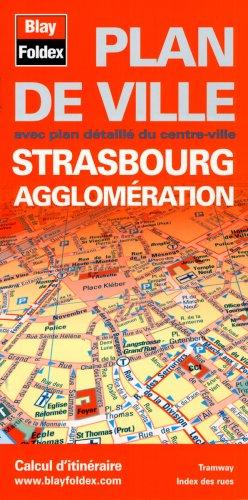 Plan de Strasbourg et de son agglomération