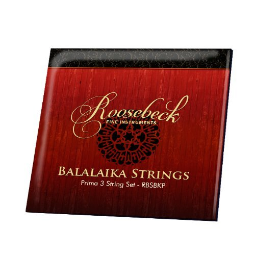 Roosebeck Prima Balalaika String Set by Roosebeck
