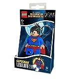 LEGO LGLKE39 - Schlüsselhänger mit Lampe Superman, mehrfarbig