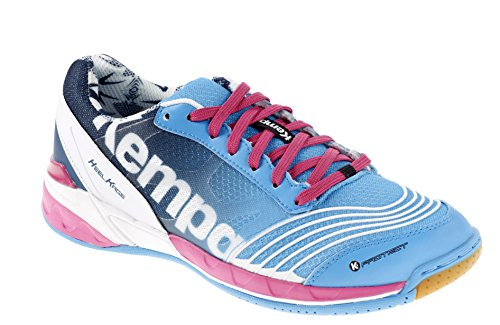 Kempa Damen Attack Two Women Handballschuhe, Blau (05), 42.5 EU