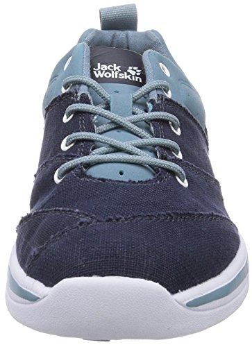 Jack Wolfskin LACONIA LOW M Herren Sneakers Blau (blue granite 1119)