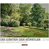 Die Gärten der Künstler - Kalender 2018: Max Liebermann und Freunde