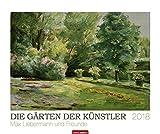 Die Gärten der Künstler - Kalender 2018: Max Liebermann und Freunde - Max; Slevogt Liebermann