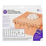 Wilton 2104-2531 - Set de boquillas con caja, 22 boquillas