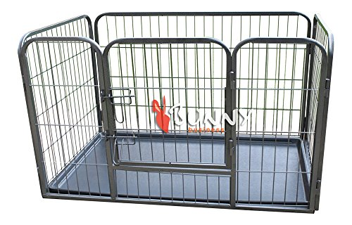 bunny-business-heavy-duty-puppy-play-pen-rabbit-enclosure-with-plastic-floor-small-93-x-63-x-61-cm-g