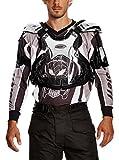 Roleff Racewear Motocross Brustpanzer, Silber Glanz, Größe L
