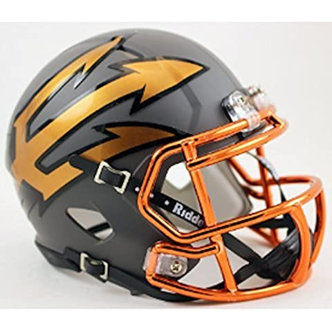 Arizona State Sun Devils NCAA Mini Speed Football Helmet Desert Hammer by Riddell