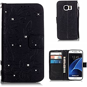 Book Style Flip Wallet Cover with Card Slots for Samsung Galaxy Grand Prime BoxTii Samsung Galaxy Grand Prime Case #3 Pink Diamond Leather Case Free Tempered Glass Screen Protector