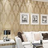 3d non tissé–Flocage épais Vert fonds d'écran Salon Chambre TV Fond papier peint, consommation inférieure à * 10
