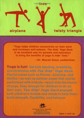 The kid's yoga deck: 50 poses & games